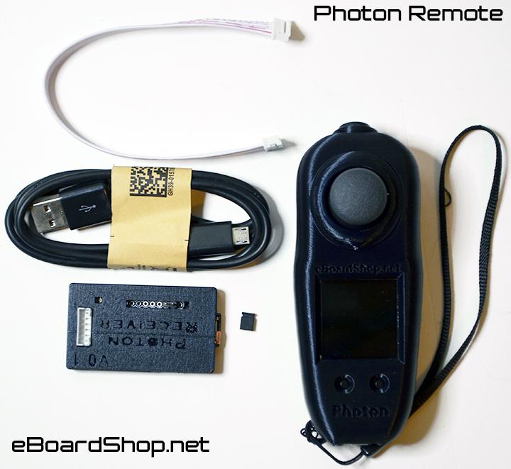 Photon Remote  Advanced Electric Skateboard Remote   Receiver *PREORDER*  eBoardShop